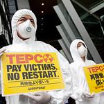 Greenpeace pide a TEPCO que indemnice a todas las v�ctimas y que no se reinicie ning�n reactor nuclear en Jap�n