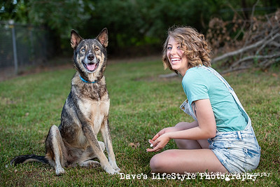 Chelsey Brooks birthday dogs