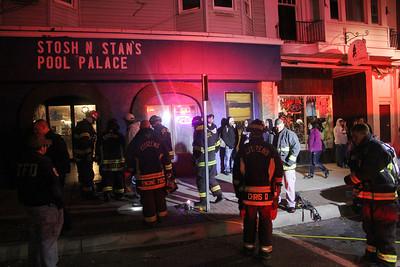 Malfunction Oil Burner, Stosh n Stan's Pool Palace, W. Broad St, Tamaqua (11-29-2013)