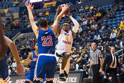 34041 WVU Men's Basketball  American University November 2017