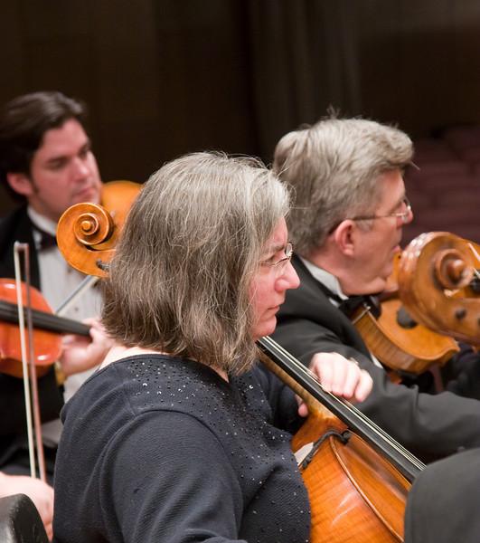 Alice Brown, cello -- Hopkins Symphony Orchestra, March 2008