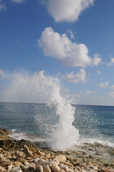 The Blow Hole on the East End (South shore)
