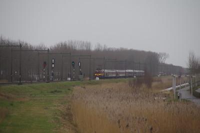 8 februari 2015 1200 ETC in Culemborg en andere treinen