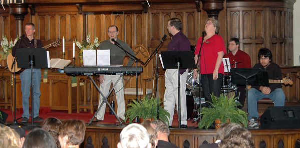 First Contemporary Service