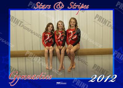 Stars and Stripes Gymnastics 2012