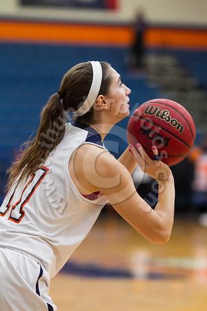 Wheaton College Women's Basketball vs Augustana (67-57), February 20, 2016