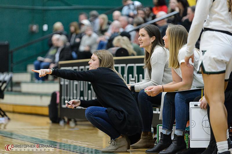 THS Girls Varsity Basketball vs West Linn