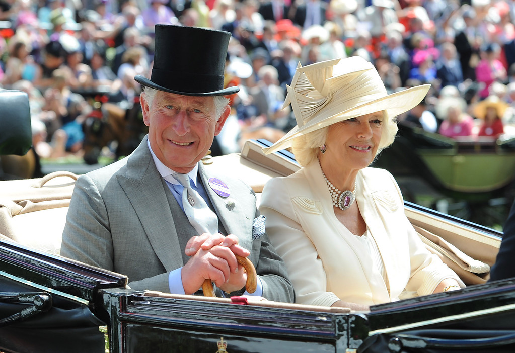 . Prince Charles, Prince of Wales and Camilla, Duchess of Cornwall attend Day 2 of Royal Ascot at Ascot Racecourse on June 18, 2014 in Ascot, England.  (Photo by Stuart C. Wilson/Getty Images)