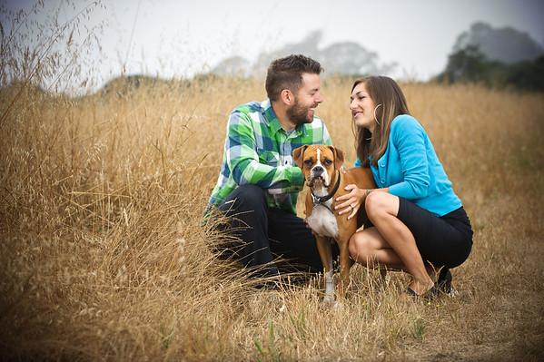 Mia and Michael (Engagement Photography, Schwan Lake, Santa Cruz, California)