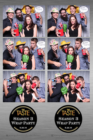 The Taste - Photo Booth Prints