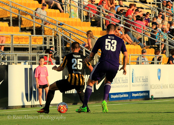 Charleston Battery vs Orlando City B July 13, 2016