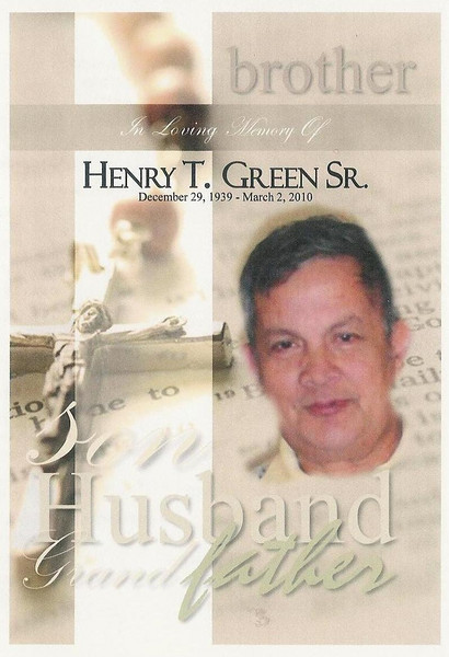 Henry Thomas Green Sr