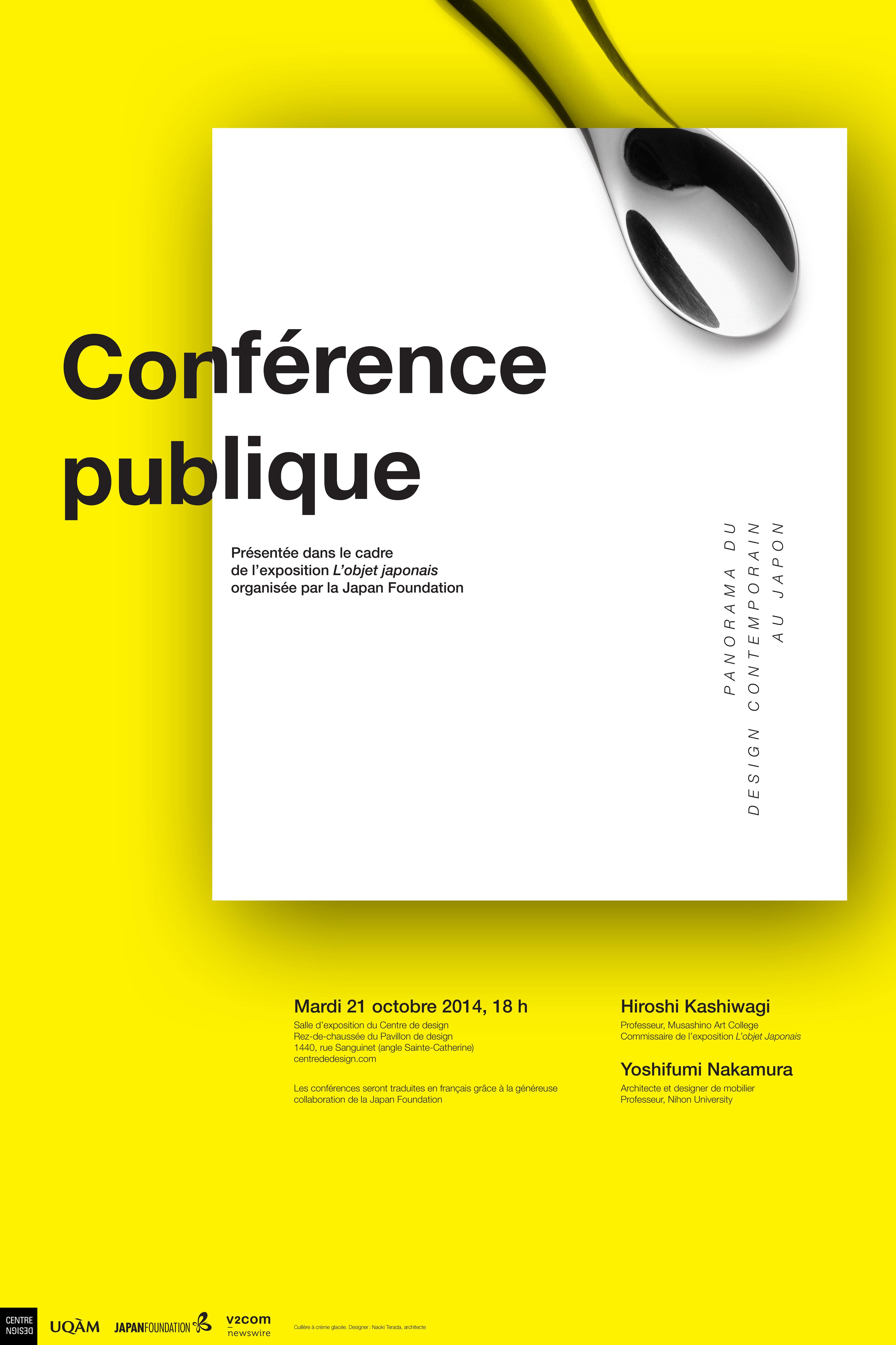 2015 - Événement - Conférence publique L'objet Japonais © Raymond Lanctôt