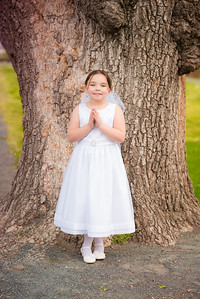 Maria-Adriana's Communion & Family