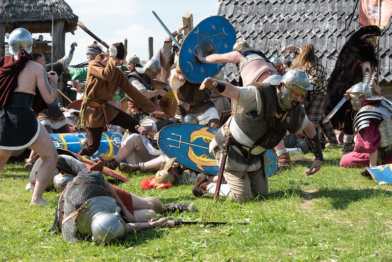 Barbarians and Legionnaires
