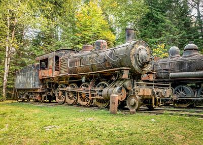 Eagle Lake Train Fall