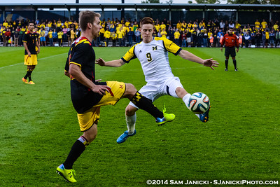 9-12-14 Michigan Men's Soccer Vs Maryland