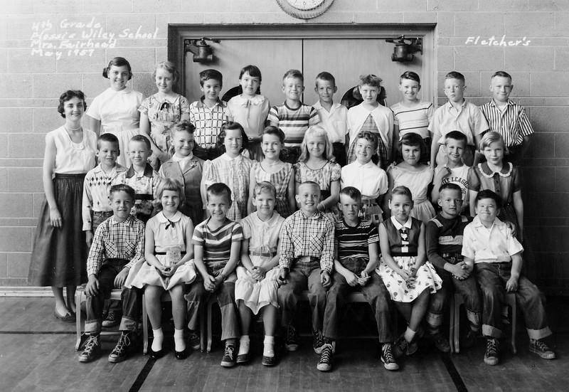 Wiley 4th Grade Class Fairhead