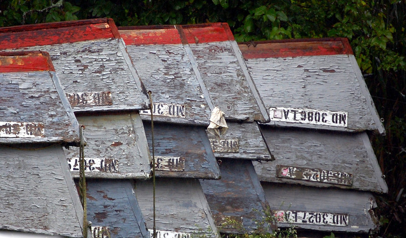 Old Row Boats