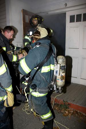 November 2009 Training Search & Rescue Drills