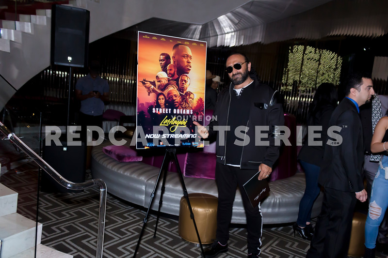 Michael Blackson & More @ Street Dreams: Los Angeles - Launch @ The W Hollywood with DJ Fredy Muks