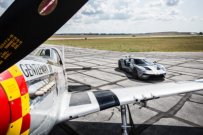Jack's Ford GT, RS3 & P-51 by J. Cliff