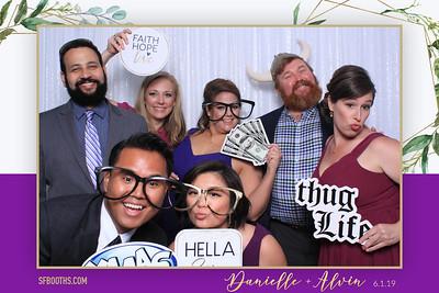 Danielle and Alvin's Wedding - June 1, 2019