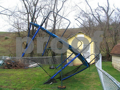 Storm Damage - April 2006