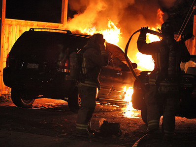 October 21, 2010 - Vehicle Fire - near 805 Avenue Rd