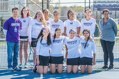 2016 04/13 Girls Tennis