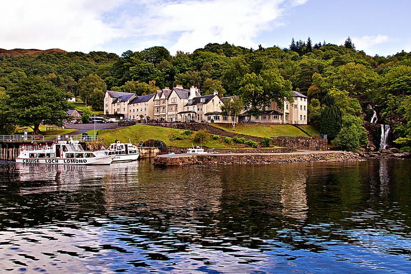 Inversnaid Hotel, Loch Lomond
