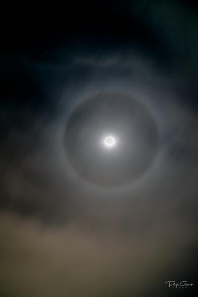 """""""Foggy Moon Halo"""""""