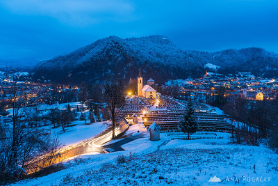 Snowy Kamnik and around - Dec 1, 2017