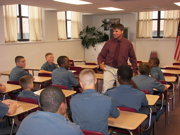 Cadet Leaders Arrive on Campus