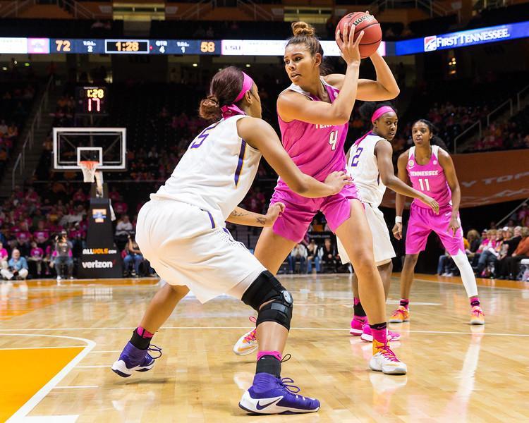 NCAA Basketball 2017: LSU vs Tennessee FEB 02