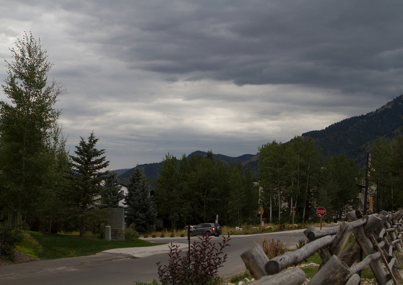 Finally it was time to crash for the night as the clouds passed over Jackson Hole
