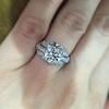 1.95ct Old European Cut Diamond Art Deco Ring, GIA L SI1 7