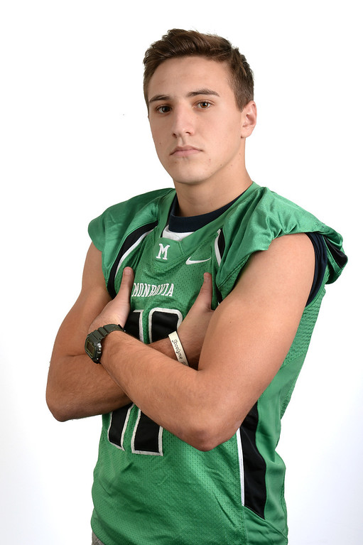 . Logan Craig from Monrovia High School was selected as the Pasadena Star-News All-Area football Player of the Year on Monday December 16, 2013.  (Staff Photo by Keith Durflinger/Pasadena Star-News)