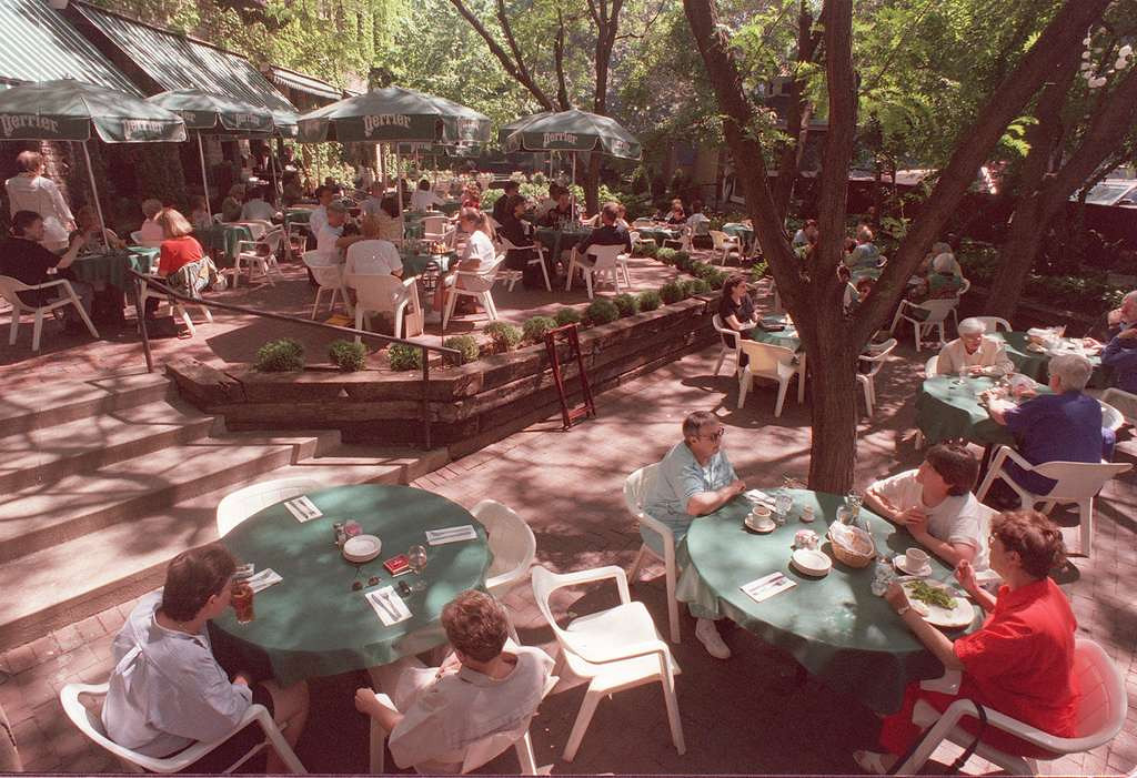 . Must have a glass of crisp, cold white wine on the W.A. Frost patio, preferably on a hot, humid night when all the twinkly lights are on. <p>-- By food writer Jess Fleming <p>-- Photo from Pioneer Press files
