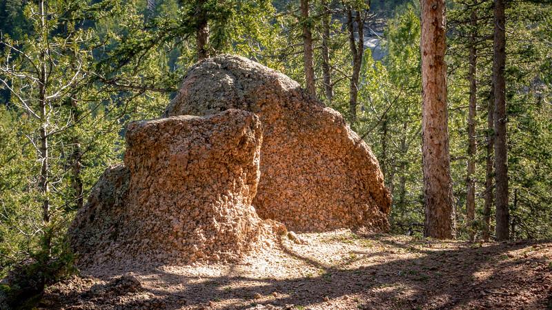 Neat erosion remnants