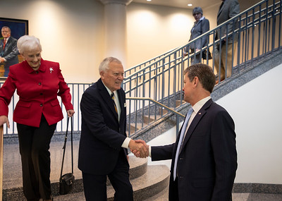 2.11.2020 Dedication Ceremony of the Nathan Deal Judicial Center Plaza