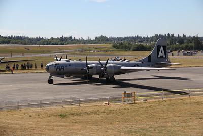 B-29 Fifi visit
