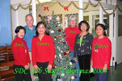 Christmas 2004 group photo