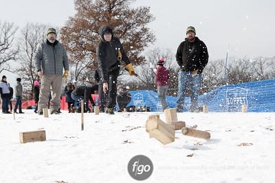 2-4-17 Loppet Saturday - Puoli Classic, Kubb, Snow Sculpture and Tour Classic