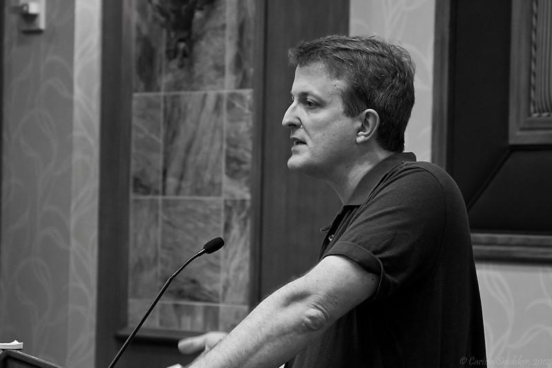 """Workshop: """"The Future of Skepticism Online: Crowd-Sourced Activism"""" - Tim Farley."""