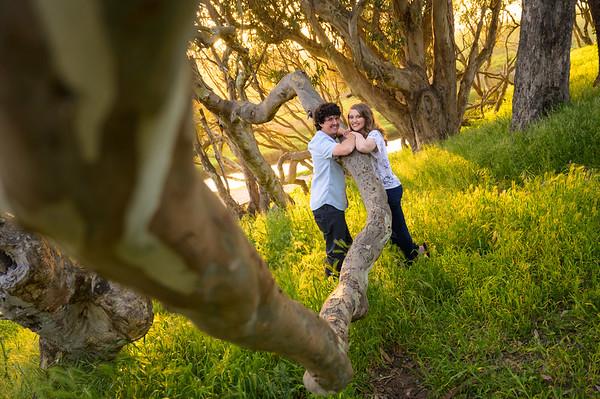 Jessica + Dylan Engagement @ Natural Bridges, Santa Cruz