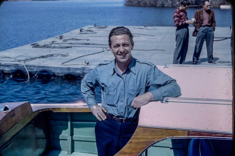 Le bateau à Léo Michaud