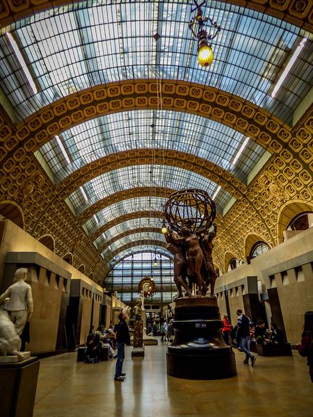 D' Orsay Museum - Paris France