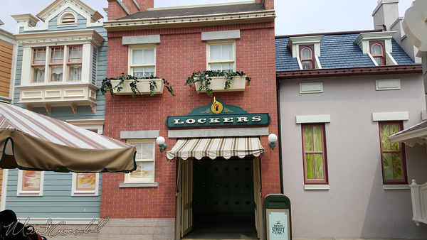 Disneyland Resort, Hong Kong Disneyland, Main Street USA, Locker, Lockers