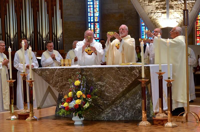 Dn. David, Fr. Ed and Fr. Dominic